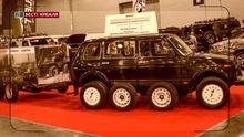 В Росії розробили авто з 12 колесами