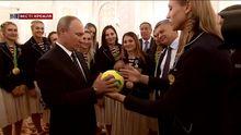 У Росії придумали, як оригінально потішити олімпійських чемпіонів