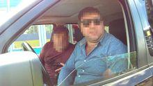 Водія Range Rover на російських номерах поклали лицем в асфальт за непокору поліції