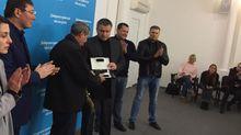 Аваков наградил водителя маршрутки за героический поступок в Днепре
