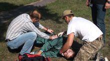 Медики пройшли гостросюжетні навчання в складних умовах