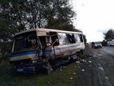 Жахлива аварія на Львівщині: бус зіткнувся з маршруткою