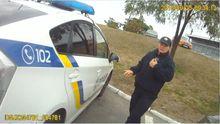 Опубліковано відео з нагрудної камери поліцейського, якого застрелили в Дніпрі (18+)