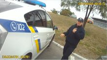 Опубликовано видео из нагрудной камеры полицейского, которого застрелили в Днепре (18+)