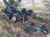 Авто зігнуло до невпізнаваності внаслідок жахливої ДТП на Дніпропетровщині