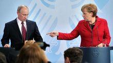 Меркель подзвонила Путіну після розмови з Порошенком