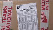 Одну из крупнейших за последние 2 года партий гуманитарной помощи передали Украине США