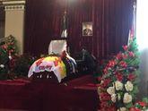 Появились первые видео и фото с похорон Моторолы