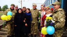 Як на Одещині зустрічають учасників АТО: душевні фото