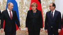 Меркель и Олланд подыгрывают Путину в преддверии собственных выборов, – эксперт