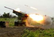 """Терористи обстріляли позиції ЗСУ з """"Градів"""": з'явились фото"""