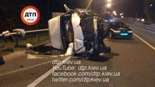 Жуткое ДТП под Киевом: 3 человека погибли, 2 – в критическом состоянии  (фото 18+)