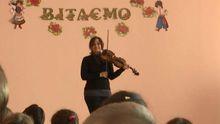 Скрипачка из Берлина провела неделю в фронтовой Авдеевке