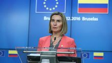 Могеріні м'яко відповіла Трампу на його прогноз щодо розвалу ЄС
