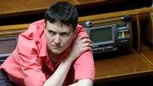 Терористи відреагували на слова Савченко щодо вирішення війни на Донбасі
