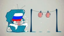 Людей, що їхали на похорон до бійця, змусили дивитись російську пропаганду