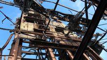 Военные показали, как сейчас выглядит шахта Бутовка вблизи Донецка
