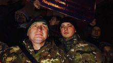 Задержанных активистов во время протестов в Киеве освободили из райотдела