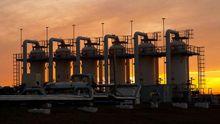 В украинских хранилищах осталось критически мало природного газа