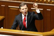 """Ляшко с криками """"позор"""" освистала толпа людей в центре Киева"""