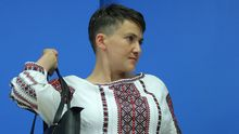 Террористы обнародовали фото с Савченко в Донецке