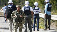 Боевики совершили циничную вооруженную провокацию против наблюдателей ОБСЕ