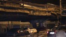 Важный путепровод обвалился в Киеве