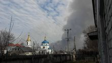 Луценко эмоционально прокомментировал версию о поджоге складов в Балаклее