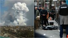 Головні новини 23 березня: вибух та пожежа на військових складах, вбивство Вороненкова у Києві