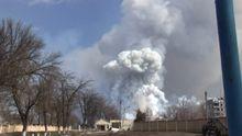 Пожар на военных складах в Балаклее погасили
