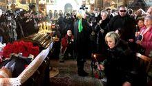 Перші фото та відео з церемонії прощання з вбитим екс-депутатом Держдуми Вороненковим