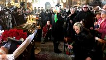 Первые фото и видео с похорон убитого экс-депутата Госдумы Вороненкова