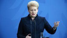 Грибаускайте объяснила, как Россия угрожает Европе