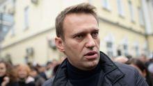 В Москве, во время массовых митингов, задержали оппозиционера Навального
