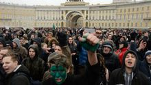 Головні новини 26 березня. Масштабні мітинги по всій Росії, катастрофа українського вертольота