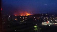 Возле аэропорта во Львове возник масштабный пожар: опубликованы фото