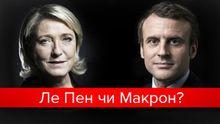 Ле Пен чи Макрон: що відомо про наступного президента Франції