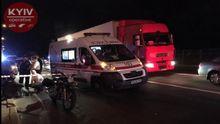 В Киеве расстреляли мотоциклиста: объявлен план-перехват