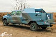 Щоб кришити ворогів: волонтери встановили потужну зброю на авто для бійців АТО