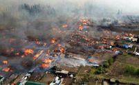 Росію охопила масштабна пожежа: є загиблі, згоріли більше сотні будинків