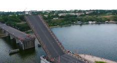 Украинцы построили один из самых длинных разводных мостов Европы