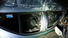 Карколомна ДТП у Києві: авто перекинуло на дах, водій вижив