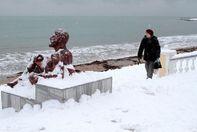 Крым замело снегом: фоторепортаж с оккупированного полуострова