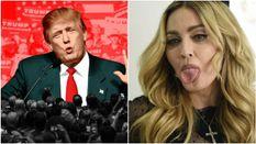 Мадонна привселюдно облаяла Трампа в прямому ефірі: з'явилось відео