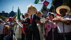 В Мексиці пройшли багатотисячні мітинги проти Трампа