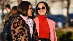 Трендовые уличные образы на Неделе моды в Нью-Йорке: лучшие фото