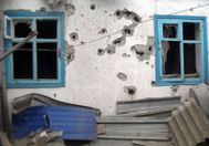 Опубликовали фото результатов вечерних обстрелов боевиков