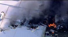 Авиакатастрофа в Австралии: самолет упал на торговый центр. Фото, видео