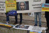 """Українці """"зірвали"""" виступ посла Росії у Португалії: опублікували фото"""
