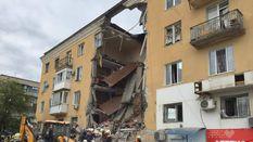 В России рухнул жилой дом: есть погибшие